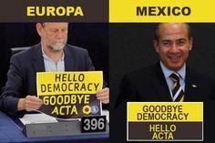 """PRImero nos imponen, ahora nos censuran, ya basta! México firma en Japón la controversial ley """"ACTA"""" abrirá camino para la censura ne Internet."""