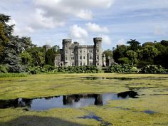 Surrounded by majestic woodland and stunning lakes, County Wexford's Johnstown Castle is a must see during a trip to Ireland's south east Images Of Ireland, Beautiful Castles, Beautiful Scenery, Tours, Emerald Isle, Place Of Worship, Monument Valley, Places To Go, Around The Worlds