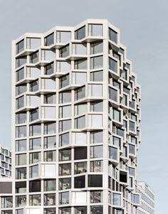 Sharing Friends - Wohnhochhäuser in München von Allmann Sattler Wappner