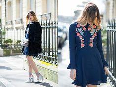 Amy Ramírez - Asos Dress, Asos Shoes - Flowers for Paris
