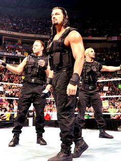 Dean Ambrose, Seth Rollins, Roman Reigns, The Shield