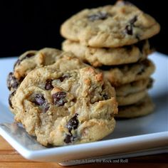 A Little Bit Crunchy A Little Bit Rock and Roll: Overnight Chocolate Chip Cookies