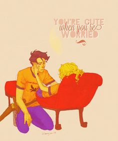 percabeth is so DAM perfect. Percy And Annabeth, Annabeth Chase, Tio Rick, Uncle Rick, Percy Jackson Books, Percy Jackson Fandom, Solangelo, Percabeth, Magnus Chase