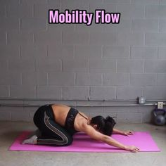Let's do this Mobility Flow! - Don't forget how important decompression & recovery is!!! - Go SLOW!!!! This had to be sped up x2 to fit in 1 min, so please take your time & go slow & control the movements!! - 1. Spinal Roll w/ Down Dog (pretend someone is pulling your back up to ceiling, feel all the segments in your spine, lift your head at the end/front, tuck your chin to go back) - - 2. Rotating Pyramid (like down dog, reach to opposite ankle, allow chest to open) - - 3. Kneeing Should...