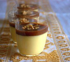 la gallina vintage: Façon Michalak Crème caramel e noccioline salate Creme Caramel, Facon, Panna Cotta, Vintage, Ethnic Recipes, Desserts, Candies, Hens, Cream