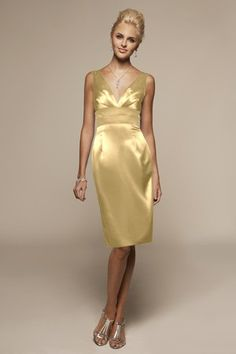 Possible bridesmaids dress. Love the color