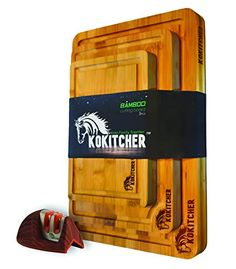 #KOKITCHER# Bamboo #CuttingBoard Set of 3 Bundle with Knife Sharpener (4 Items) - #Multi-size Kitchen Natural Bamboo Cho... All I Want For Christmas, Christmas Pjs, Christmas Shopping, Christmas Competitions, Vegetable Prep, Christmas Giveaways, Specialty Knives, Knife Sharpening, Wood Patterns