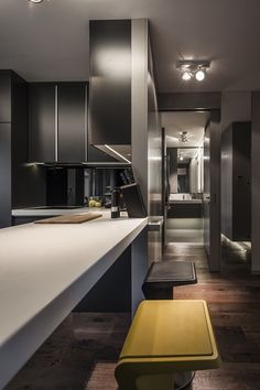 40 m2 Flat in Budapest by Suto Interior Architects