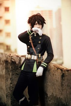 Hyakuya Costume Owari no Seraph made by me by dovananh27031993 on DeviantArt