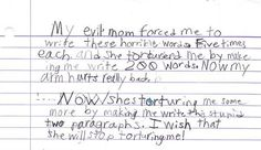 Funny Letters From Kids (1)