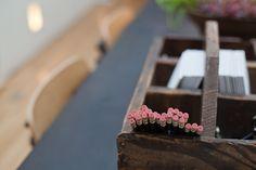 Wooden pencil tray