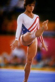 Mary Lou Retton Then: It was the perfect place for her to shine. The 1984 Summer Olympics were set in Los Angeles. And since the nation had boycotted the 1980 Games, the nation was eager for the next chapter of its Olympic story.   Enter Mary Lou Retton. The West Virginia teen with the trademark smile and spunky demeanor literally vaulted her way to the top. Retton won the all-around gold medal and the heart of the nation, too.