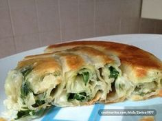 Pita sa domacim korama i tacnim merama ! Bosnian Recipes, Croatian Recipes, Quiches, Baking Bad, Great Recipes, Favorite Recipes, Macedonian Food, Good Food, Yummy Food