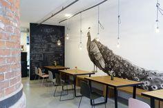 Café Faux Vau restaurant by UniversalProjekt, Hamburg – Germany