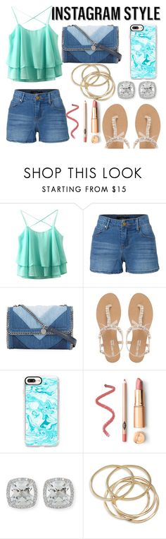 """Instagram Ready!"" by qwertyuiop-sparta ❤ liked on Polyvore featuring LE3NO, STELLA McCARTNEY, Head Over Heels by Dune, Casetify, Frederic Sage, ABS by Allen Schwartz, 60secondstyle and PVShareYourStyle"