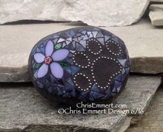 Mosaic art made with all thing cool. Mosaic Garden stones, wedding stones, pet memorials and custom work.