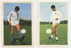 Cees and Thijs - Telstar footbal club. Players cards, 1970
