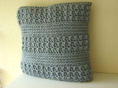 Crochet pattern chunky cushion cover | crochet pattern pillow | pattern bulky yarn | decorative throw pillow tutorial | decor | pdf pattern