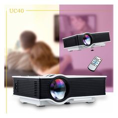 87.00$  Buy now - http://aliwb9.worldwells.pw/go.php?t=1000003059069 -  2016 New UC40 800 Lumen Mini Portable Projector Home Theater UC40 projecotor Beamer Multimedia 1080p Video HDMI