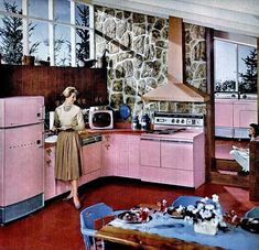 """The Vault Of The Atomic Space Age — danismm: """"That Hotpoint Difference"""", 1958 Space Age, Vaulting, Outer Space, My House, House Design, Vintage Modern, Technology, Tech, Architecture Design"""