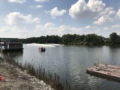 Drag boats on the Kaskaskia River in Evansville. Photo courtesy of Christopher Martin. Randolph County, IL. #randolphcountyil