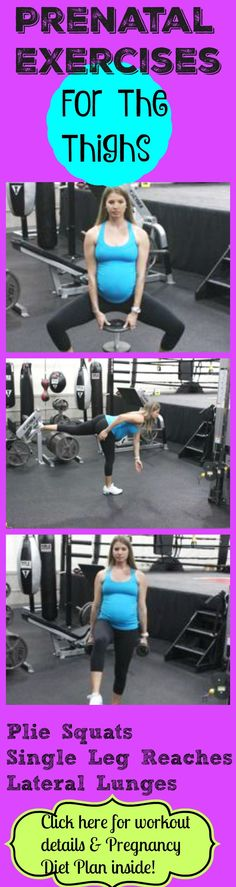 Pregnancy exercises for thighs