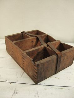 Primitive Organizer  Carpenter Crate with by MustyFurnitureCo, $65.00