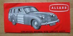 ALLARD-SAFARI-ESTATE-CAR-orig-1954-UK-Mkt-Sales-Leaflet-Brochure