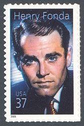 USPS  2005 - Henry Fonda -   11th in Legends of Hollywood Series  -The legendary actor Henry Fonda (1905-1982)