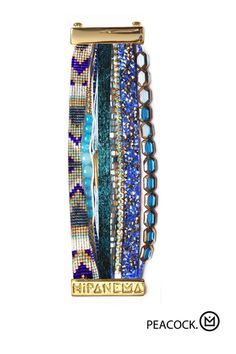 Peacock - Hipanema Bracelet (one of our faves) - #wishgifts