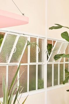 miami in madrid. - Home FTH - Home Decor Ideas Interior Exterior, Exterior Design, Interior Architecture, Pastel Colour Palette, Pastel Colors, Madrid, Le Logis, Windows And Doors, Interior Inspiration
