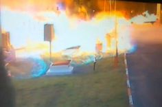 07/20/2015 - Gas leak leads to explosion that engulfs petrol station in huge fireball - Austria
