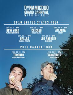 #DYNAMICDUO #GRANDCARNIVALTOUR More info @ US TOUR - https://www.facebook.com/mmtglobal/ CANADA TOUR - http://trcanada.com/dynamicduo