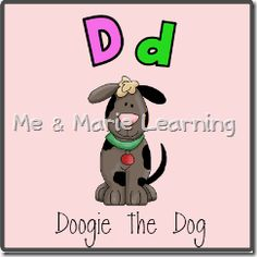 Letter D Doogie the Dog