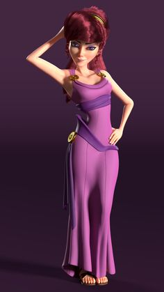 Meg from Disney's Hercules, personal project, front view