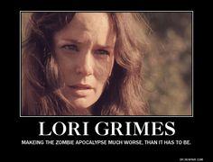 A mi me gustaba Lori, más que la mayoria de los personajes