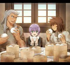 Aldebaran, Sasha, Dohko Alone Art, Good Manga, Sword Art Online, Chibi, Fanfiction, Fairy Tail, Santos, Dragon Ball, Saga