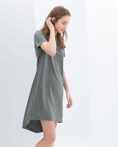 ZARA - NEW THIS WEEK - SHORT SLEEVE DRESS