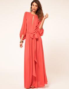 Long-Sleeve-Chiffon-Maxi-Dress-Ideas