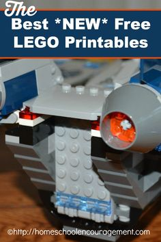 The Best *New* Free LEGO® Printables -- A brand new list of fun LEGO printables we had not found or listed in our last series! from #Homeschool Encouragement