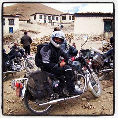 Riding in Tibet 2013