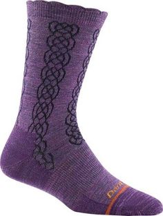 Darn Tough Women's Cable Basic Crew Socks
