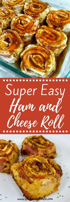 A new way on ham and cheese roll. This appetizer or dinner side item is a crowd favorite. My family and friends love this simple, easy recipe. With just a few ingredients, you can create this dish in no time. This is one of my family's favorite food. #roll #dine #tasty