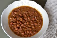 Caricos Frijoles, Beans, Vegetables, Food, Legumes, Essen, Vegetable Recipes, Meals, Eten
