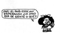 Frases de Mafalda que cambiaran tu forma de pensar.