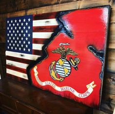 Our tribute to the hardcore American Marine Corps. No one fights harder!! Subject to a 10-14 week lead time.