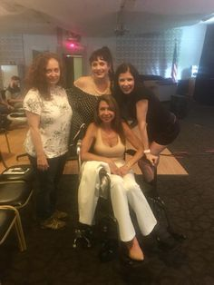 """Premiere of """"THE DANCER"""" with Lisa Pearl, Bettina Skye, and Roxanne Alese at the Hoboken International Film Festival on May 20."""