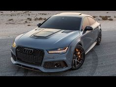This is a 1 of 1 special order Audi with I think is the coolest Audi ever! More pics in the comments! Audi Rs5, Audi Rs7 Sportback, Audi Quattro, Brixton, Nardo Grey, Automobile, Sport Seats, Car Colors, Audi Sport