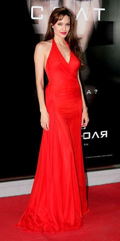 Look of the Day - July 26, 2010 - Angelina Jolie in Atelier Versace from #InStyle