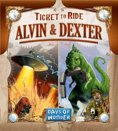 Ticket to Ride: Alvin & Dexter ‹ Products ‹ Snakes & Lattes